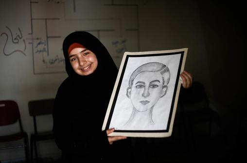 Sabreen, 15, State of Palestine