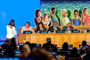 Every Woman Every Child high-level event and Global Strategy launch – UNHQ – 2015