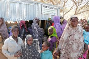 Nigerian refugees in Chad - 2015