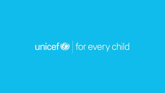 UNICEF FOR EVERY CHILD EN CYAN