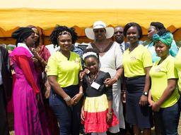 Pictures from the International Day of the Girl Child national celebration event and launch of the National Campaign on Adolescent Girls