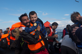 Refugees and migrants arrive by sea – Greece – 2015