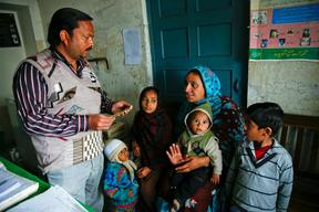GAVI-supported Measles Vaccination - 2015