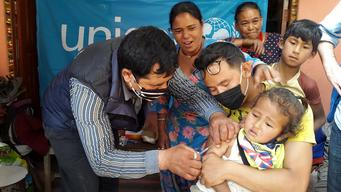 Emergency vaccination campaign
