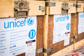 UNICEF emergency supply plane reaches cyclone-affected Fiji