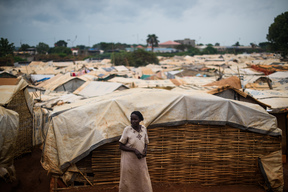 Living conditions of IDPs in Wau, South Sudan - 2017