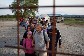 Refugees and migrants in the fYR of Macedonia - 2015