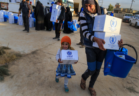 Reaching families affected by the Mosul Operation - Iraq - 2016