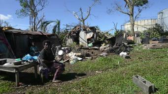 12656 Vanuatu Cyclone Pam March 17 BROLL HD NTSC