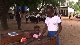 9574 DRC Kinshasa Child-toChild Program  SELECT BROLL 1 HD PAL