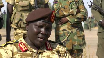 12584 S Sudan child soldiers release BROLL HD PAL
