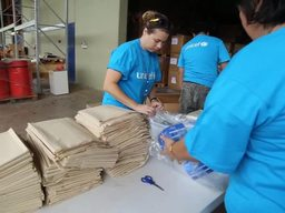 Fiji - Cyclone Winston supplies