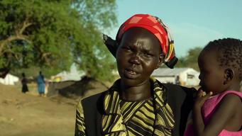 12233 South Sudan Running From Conflict SELECT BROLL HD PAL