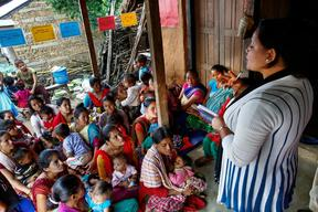 Support for breastfeeding in Nepal  - 2015