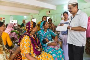 Local level planning in Health sector in Thakurgaon - Bangladesh 2014