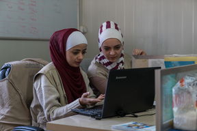 Open source app launched to help protect children displaced by conflict - Jordan - Hala's story