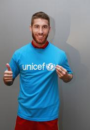 Sergio Ramos, UNICEF Spain's newly appointed National Ambassador